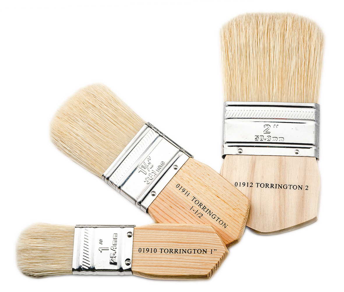 Paddle Handle Faux Finishing Brushes
