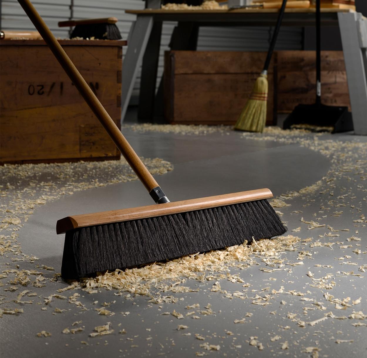 Floor Brooms and Accessories