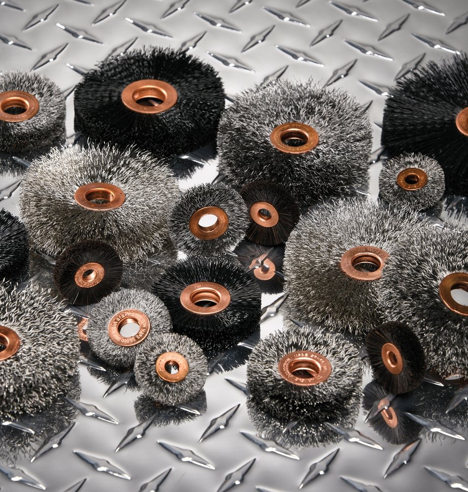 Wire Wheel, End and Cup Brushes