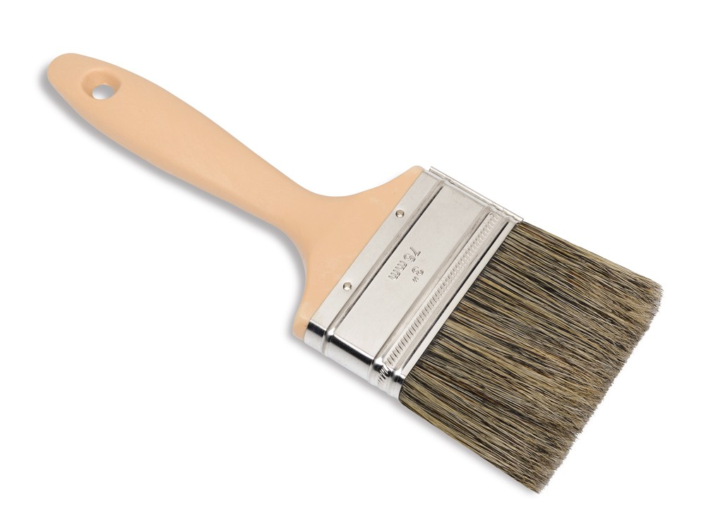 High Quality Short Grey Bristle Paint Brushes